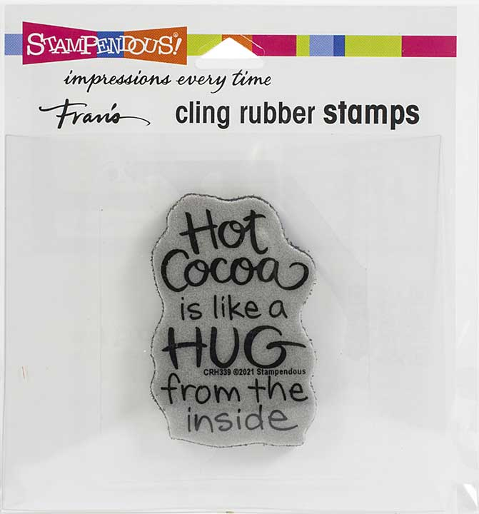 Stampendous Cling Stamp - Cocoa Hug