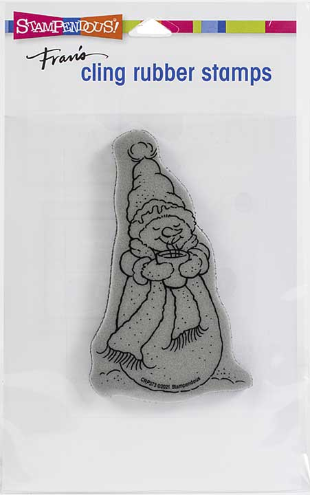 Stampendous Cling Stamp - Warm Snowman