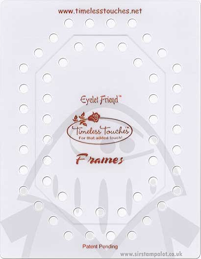 Template - Eyelet Friend Octagon Frame