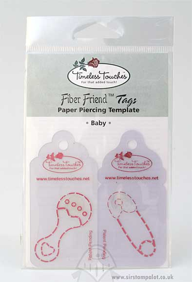 Paper Piercing Template - Baby