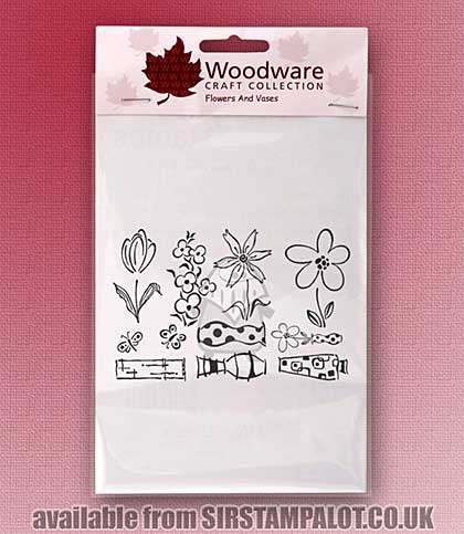Clear Magic Stamps - Flowers And Vases