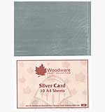 Silver Mirror Card (Pack of 10)