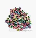 Eyelets - Round Pastel Eyelets 100 (1 8th inch)