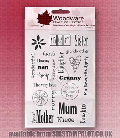 SO: Clear Magic Stamps - Female Relatives