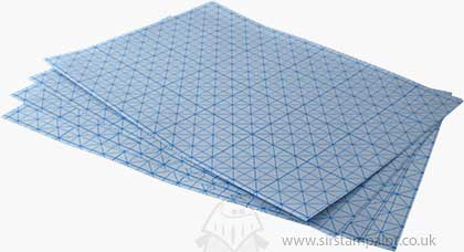 SO: Double Sided Adhesive Sheets A4 - (4 Sheets)