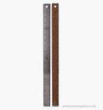 SO: Woodware 18 Inch Corked Back Metal Ruler [03010]