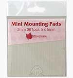 SO: Mini Foam Mounting Pads - Black (2mm)