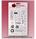 Clear Magic Stamps - Baby Greetings