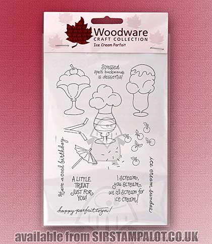 Clear Magic Stamps - Ice Cream Parfait