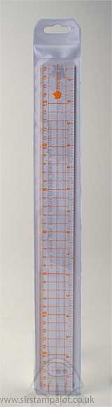 Really Useful Ruler - Clear with Metal Edge (38cm)