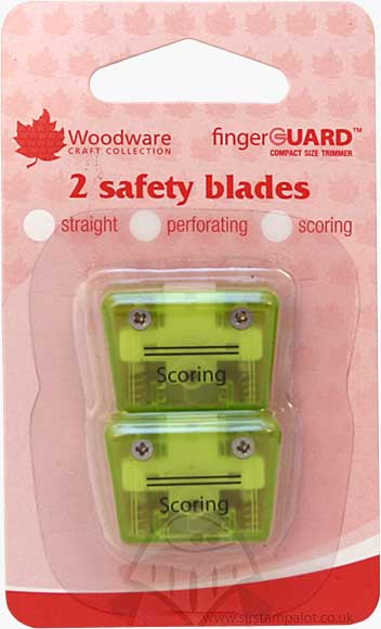 Mini Compact Trimmer Replacement Blades Scoring (2 pk)
