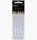 SO: Self Adhesive Nailheads 5mm - Silver