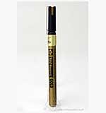 Fine Point Metallic Ink Pen - Gold