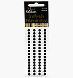 Self Adhesive Nailheads 5mm - Black
