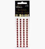 SO: Self Adhesive Nailheads 5mm - Red