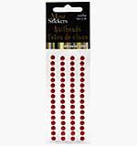 Self Adhesive Nailheads 5mm - Red