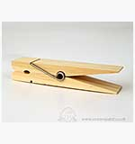 SO: Jumbo Wooden Peg (15 x 3.5cm)