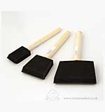 SO: Foam Sponge Applicator Brushes (3 pack)