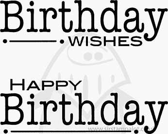 SO: Clear Magic Single - Double Birthdays