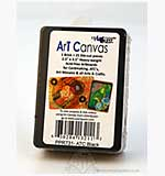US Art Quest - Art Canvas ATC Cards - Black (25 pk)
