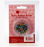 SO: Brads - Boy Baby Buttons (5mm)