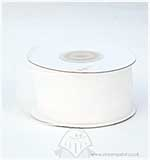 Organza Ribbon 40mm - White