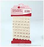 SO: Self-Adhesive Lace - Cream (1 metre)