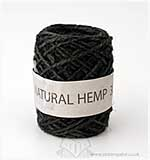 Natural Hemp 4mm x 30m - Black