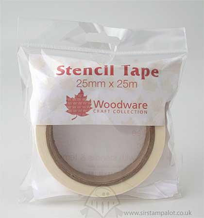 SO: Stencil Tape (25mm x 25m)
