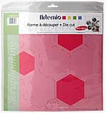 Artemio - Mini Album Die Cut Tracing Template - Hexagon