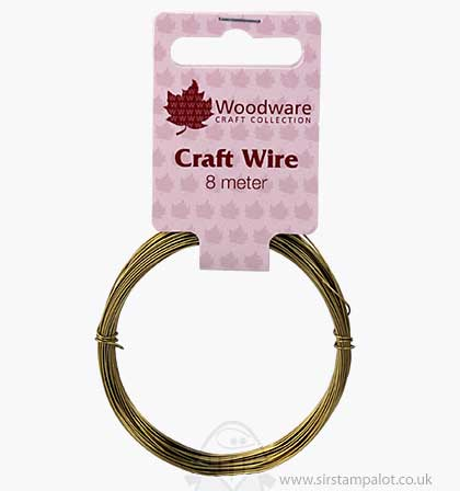 SO: Craft Wire - Gold (8 meters)