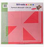 SO: Artemio - Mini Album Die Cut Tracing Template - Triangle