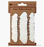SO: Woodware Paper Ribbon Heart (Length 2.9m)
