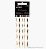 Self Adhesive Nailheads 3mm - Gold