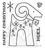 SO: Clear Magic Singles - Noel Reindeer