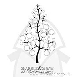SO: Clear Magic Singles - Bubble Bloom Festive Tree