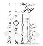SO: Clear Magic Singles - Delightful Dangles Christmas Ornaments