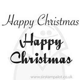 Clear Magic Singles - Happy Christmas