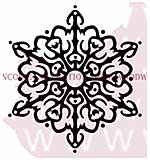 Nordic Snowflake - Woodware Clear Magic Stamps