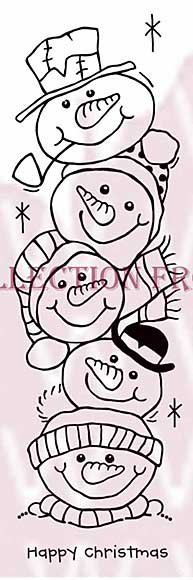 SO: Snow Buddies - Woodware Clear Magic Stamps