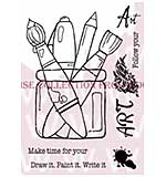 Follow Your Art - Woodware Clear Magic Stamps