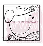 SO: Rudolf - Woodware Clear Magic Stamps