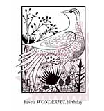 SO: Woodland Bird - Woodware Clear Magic Stamps