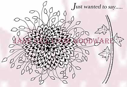 SO: Bold Blooms - Harriet - Woodware Clear Magic Stamps