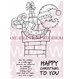Christmas Delivery - Woodware Clear Magic Stamps