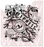 SO: WA16 Woodware Clear Stamps - Christmas Collage
