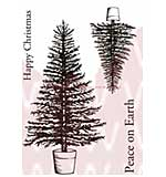 SO: WA16 Woodware Clear Stamps - Traditional Tree