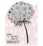 WA16 Woodware Clear Stamps - Snowflake Flower
