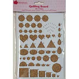 Woodware Shape Quilling Board (150mm x 210mm)