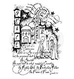Woodware Clear Magic Stamps - The Nativity Story [WW1806]